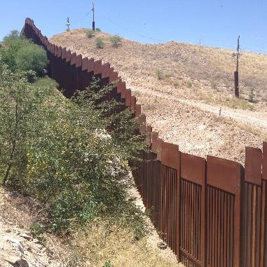photo of wall at the border