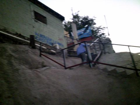 stairs to La Roca