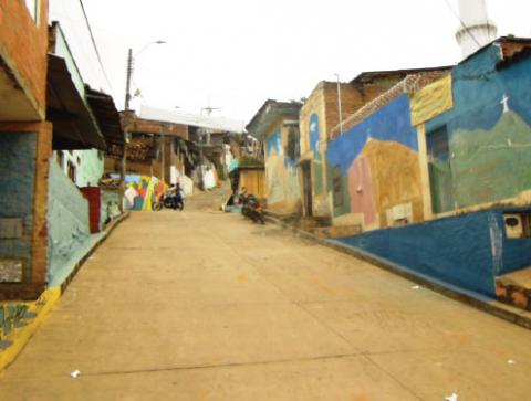 Calle del Arte - Capilla del Lleras Camargo, Siloé
