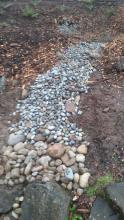 photo of rock pathway