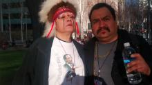 Blas and Native American Woman